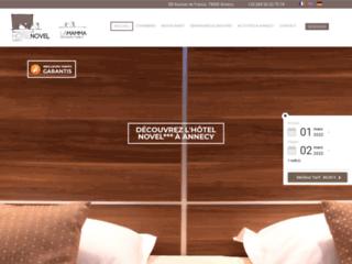 Hôtel 3 étoiles avec Restaurant à Annecy
