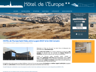 Hôtel de l'Europe à Saint-Malo