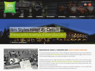 Détails : Ibis hôtel styles  à Mulsanne 72230 – Circuit des 24h du Mans