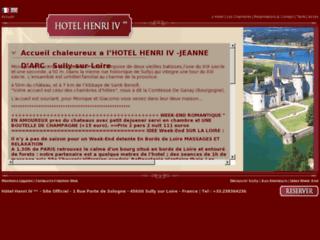 Hôtel de charme Henri IV à Sully sur Loire, vos week-ends détente en bord de Loire (Loiret(