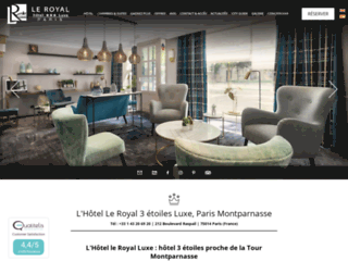 Hôtel le Royal - Hôtel 3 étoiles pour un week end à Paris