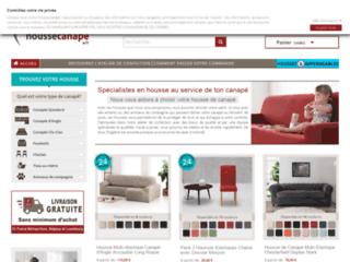 Capture du site http://www.houssecanape.fr/