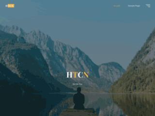 Capture du site http://www.htcn.fr