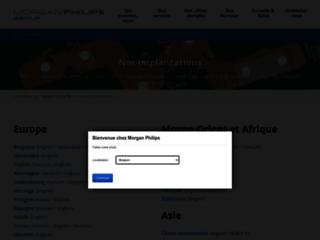 Capture du site http://hudson.fr/fr-FR/Accueil.aspx