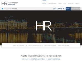 Maître Hugo RASSION, Notaire à Lyon