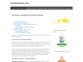 L'huile de saumon : Un complément alimentaire naturel