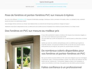 Détails : Des fenêtres et portes-fenetres sur mesure à Hyères - Les menuiseries de la vallée