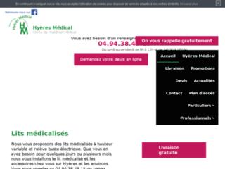 Location de matériel médical sur Hyères, Toulon (83)