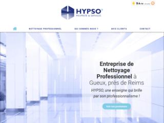 Hypso, entreprise spécialisée en nettoyage de locaux professionnels dans la Marne