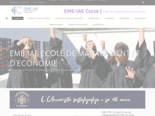 L'Institut d'Administration des Entreprises de Corse