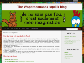 The Wapatacouaaak-squiiik blog