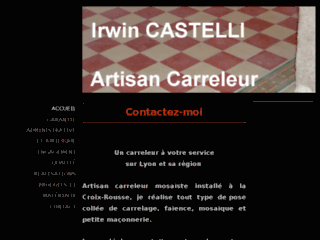 irwin castelli artisan carreleur sur lyon