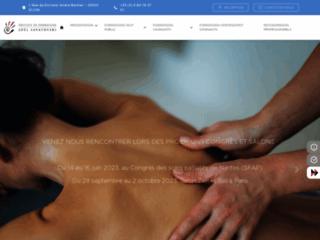 Ecole de massage FFMBE sur http://www.ifjs.fr
