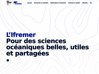 Ifremer - L'Institut Français de Recherche