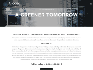 I Global Asset Management | Electronic E-Waste Lab - Medical Recycling