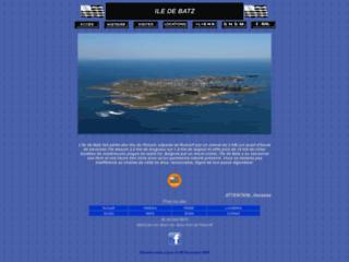 Capture du site http://www.ile-de-batz.org