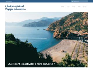 Détails : iloisirs.fr : site voyages et loisirs