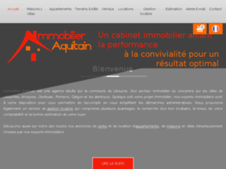 Agence immobiliere à Libourne