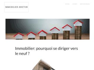 Immobilier Breton - Annonces immobilières en Bretagne.