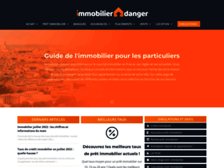 Capture du site http://www.immobilier-danger.com