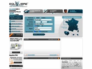 Capture du site http://www.immobilier-entreprise.fr