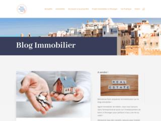 Capture du site http://www.immobilier-maroc-tanger.com