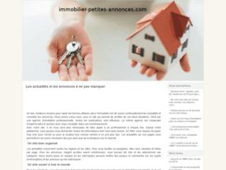Immobilier Petities annonces en ligne