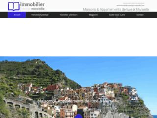 Capture du site http://www.immobilier-prestige-marseille.com/