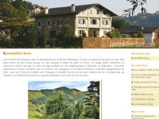 Location villa sare