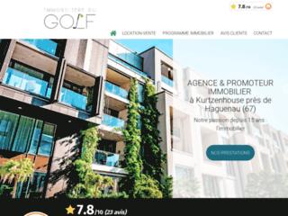 L'Immobilière du Golf votre agence immobilière à Kurtzenhouse près de Haguenau