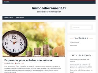 Aperçu du site Immobilierement.fr