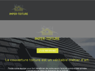 Imper toiture, le spécialiste pour la réalisation de toitures