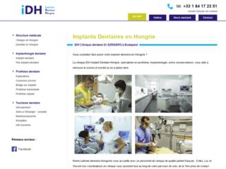 Clinique du Docteur MERCZ: l'Etablissement hongrois spécialisé en Implantologie Dentaire