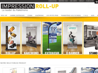 roll up impression