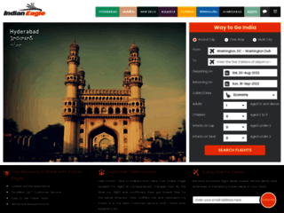 Cheap flights from Chicago (ORD) to Hyderabad (HYD) | Indian Eagle