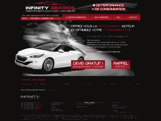 Capture du site http://www.infinityreprog.com