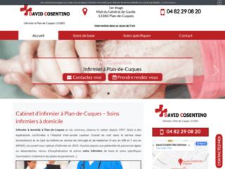 Cabinet d'infirmier à domicile à Plan de Cuques