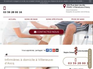 Cabinet infirmières à Villeneuve d'Ascq