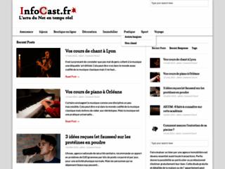 Détails : Infocast