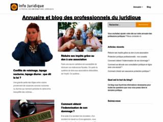 InfoJuridique.fr - Blog et annuaire juridique
