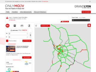 Info Trafic sur le Grand Lyon