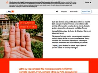 Apercu du site web
