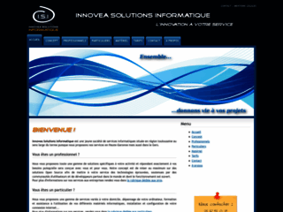 Capture du site http://www.innovea-solutions.fr