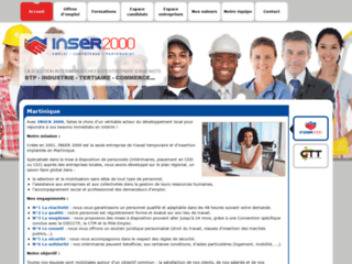 Inser 2000 : Agence Intérim Martinique