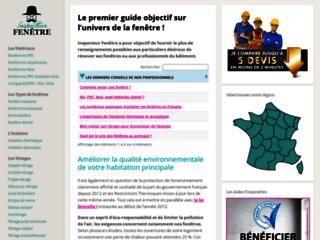 Inspecteur-Fenetre: le guide des fenêtres pvc bois et alu