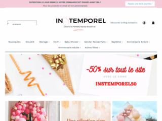 Site officiel de l'entreprise instemporel