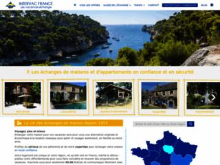 Page d'accueil de Intervac.fr