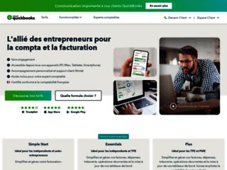 Logiciel comptable en ligne: QuickBooks