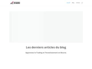 Investissement en Bourse, site de swing trader