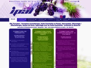 Centre de formation en aromathérapie et massages sur http://www.ipal-formation.com
